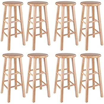 Strange Amazon Com Winsome 29 Inch Square Leg Bar Stool 29 Ibusinesslaw Wood Chair Design Ideas Ibusinesslaworg