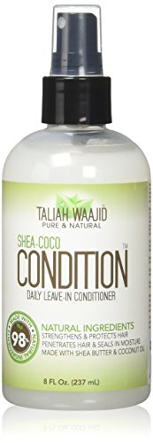 Taliah Waajid Shea-Coco Condition Daily Leave-in Conditioner 8 oz (Best Protective Styles For Natural Hair)