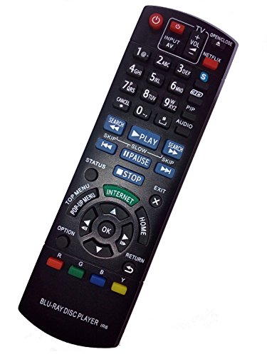New Replaced N2QAYB000719 Remote Control for Panasonic DM...