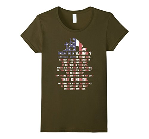 Women's Veteran Whether Active Duty Retired Or National T-Shirt XL - Tee Active Duty