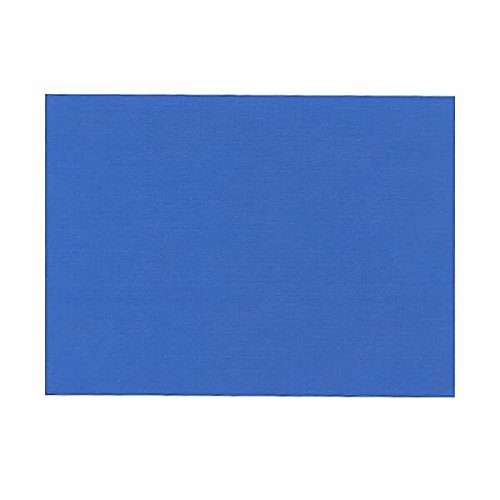 JAM PAPER Blank Flat Note Cards - 4 5/8 x 6 1/4 (Fits in A6 Envelopes) - Blue Linen - 500/Pack