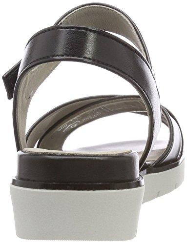Sandali Cinturino Nero alla Basic Gabor Donna con Schwarz Caviglia 5xwRyF6t