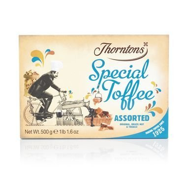 - Thorntons Assorted Special Toffee Box (500g)