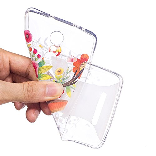 XIAOMI Redmi Note 3 Funda Caso de dibujos animados, KaseHom claro cristal TPU tapa suave prueba de parachoques Slim protector Shell Unicorniolindo de diseño + [Lápiz táctil gratuito] Venado Sika