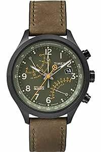 Timex T2P381AU - Reloj de cuarzo para hombres, color verde