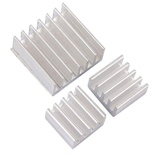 19 opinioni per 3 PC dissipatore di calore di raffreddamento in alluminio dissipatori per