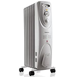 Amazon Com Kenmore Oil Filled Radiator Heater White