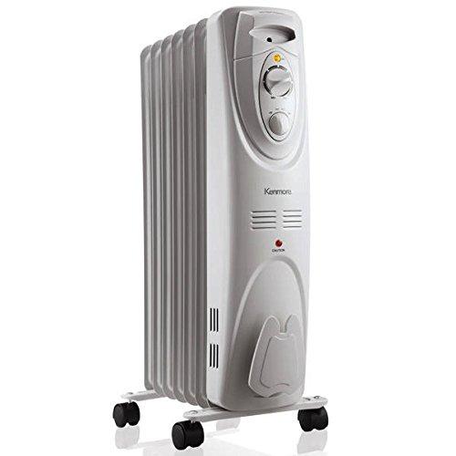 Kenmore Oil filled Radiator Heater White