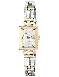 Anne Klein 10/4899SVTT Women's Dress Watch, Silver/Gold Bracelet with Silver Dial