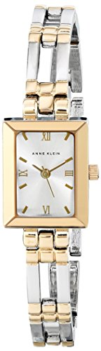 Anne Klein Women's 104899SVTT Two-Tone Dress Watch Dress Bracelet Watch