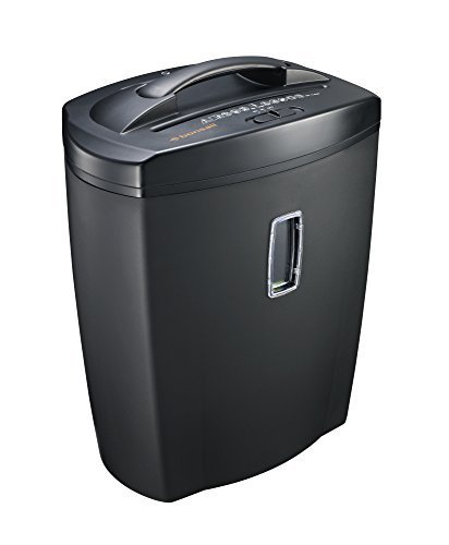 Bonsaii DocShred C156-D 12-Sheet Cross-Cut Shredder with 5.5 Gallon Wastebasket Capacity and Window