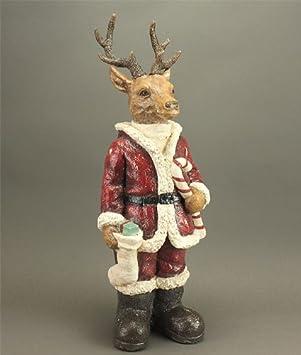 Außendekoration Weihnachten.Tourwell Vertrieb Xl Deko Figur Weihnachten Innen Oder Außen Hirsch