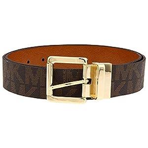 Michael Kors Womens Signature Reversible Belt Brown