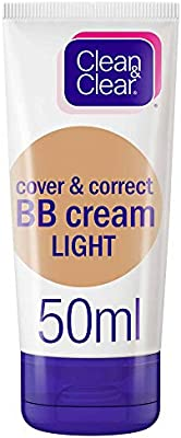 Clean Clear Bb Cream Cover Correct Light 50ml Buy