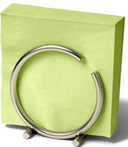 Holder Euro Napkin (Spectrum Euro Round Napkin Holder - Color Satin Nickel)