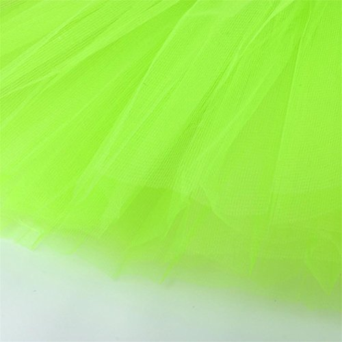 Adult Green TIFENNY Womens Skirt mesh Sale Dress Half Tutu Waist Dancing Mesh Gauze Pleated Hot Solid High gf7xqwFax