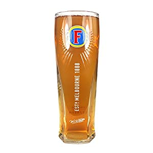 Tuff Luv Original Pint Beer Glass/Glasses/Barware CE 20oz / 568ml for Fosters