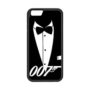 Protection Cover iPhone 6 4.7 Inch Cell Phone Case Black Rwush 007 James Bond Personalized Durable Cases