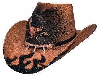 Skull Cowboy Hat (Large