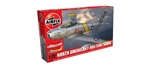 Airfix 1:72 North American F-86F Sabre E(M) Kit () (North American F-86f Sabre)