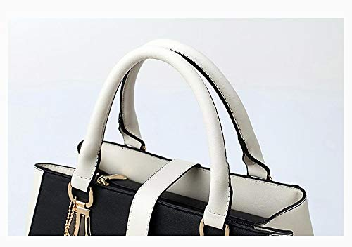 Wallet Pendant Tote 33 Insertable CM Retro 14 Exquisite X Bag Soft Black Beige Etc Leather Large X capacity Book Shoulder Women's Tote 23 Casual azw6x