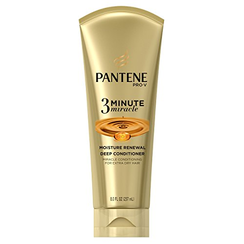 Pantene Moisture Renewal 3 Minute Miracle Deep Conditioner, 8 Fluid Ounce