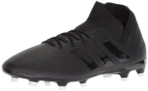 adidas Men's Nemeziz 18.3 Firm Ground Soccer Shoe, Black/White, 7 M US