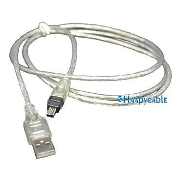 Amazon.com: New USB To IEEE 1394 4 Pin Firewire Adapter High Data i ...