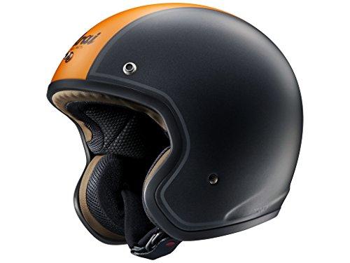Nouveau ARAI FREEWAY-2 graphique casque de moto 2014 en noir/ORA