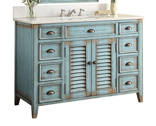 """46"""" Cottage look Abbeville Bathroom Sink vanity Model CF28885BU"""