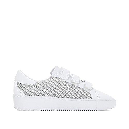 Mit La Gre Weiss Klettverschluss Sneakers Mademoiselle Frau Mesh Redoute Aus R 37