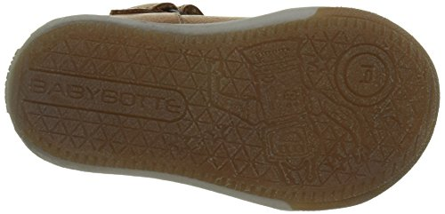 babybotte Samoa, Zapatillas Altas para Niños Marron (Camel/Turquoise)