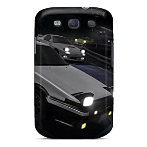 Sanp On Case Cover Protector For Galaxy S3 (initial D)