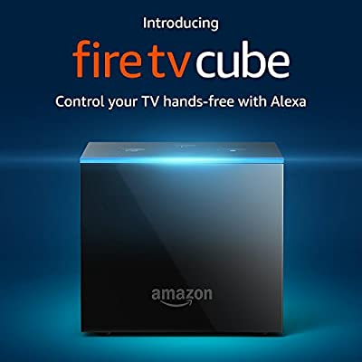 Fire TV Cube | Streaming Media Player | Hands-Free with Alexa and 4K Ultra HD