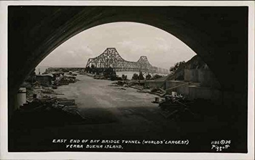 east-end-of-bay-bridge-tunnel-worlds-largest-yerba-buena-island-original-vintage-postcard