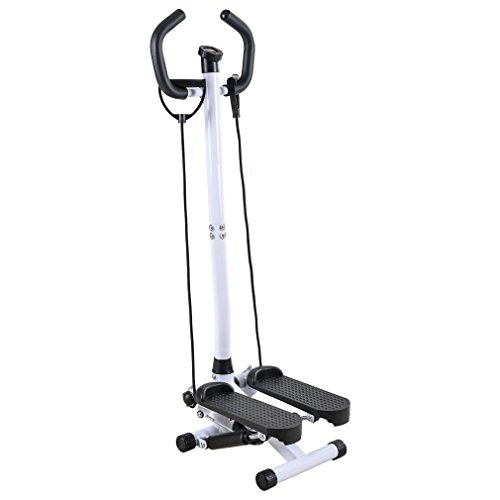 Cheap BestMassage Adjustable Twister Stepper with Handle Bar, Healthy and Fitness Mini Stepper