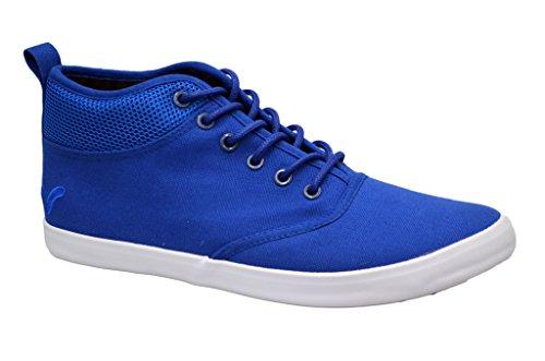 Zapatillas funda Voi Jeans para hombre elegante Hi Top Zapatos Gimnasio Walking bombas zapatillas calzado Azul