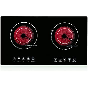 Amazon.com: XGMY DT5 Double 2200W Burner Cooktop ...