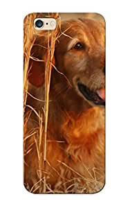 Kpatjq-5762-ljlogsw Cover Case - Animals Dogs Golden Retriever Protective Case Compatibel With Iphone 6 Plus