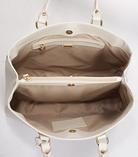 Josephine Osthoff Handtaschen-Manufaktur , Sac bandoulière pour femme Blanc Blanc