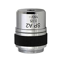 AmScope A2X 2X Achromatic Microscope Objective