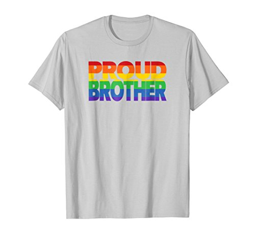 Gay Pride Shirt Proud Brother LGBT Ally shirts for Family