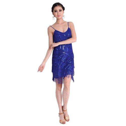 Eyekepper - Vestido - Noche - Básico - para mujer Azul