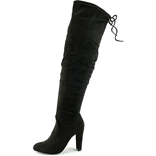 Charles Av Charles David Sycamore Womens Boots Svart Strech Micro