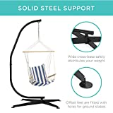 Best Choice Products Metal Hanging Hammock C-Stand