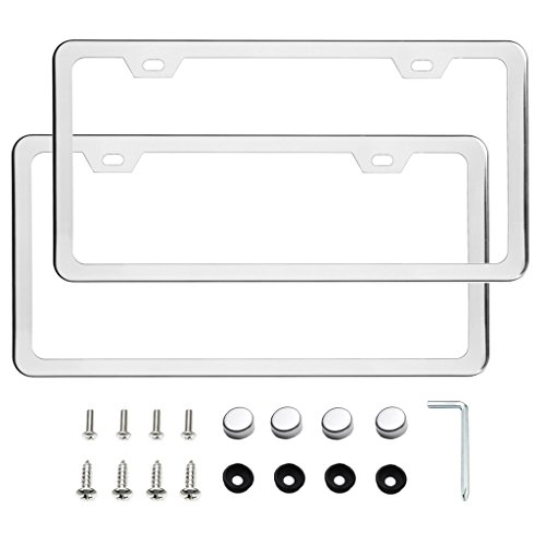 set of two license plate frame - 5