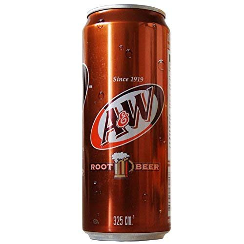 A&W Root Beer Soft Drink - 24 Cans
