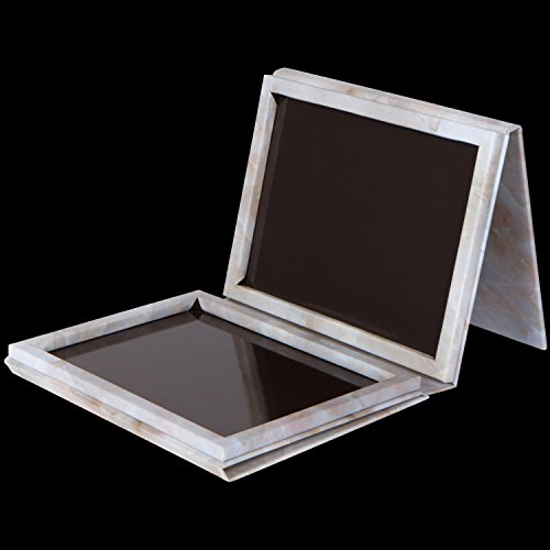 Marble Extra Large Empty Magnetic Makeup Palette Holds 70 Standard Magnetic Eyeshadows and Comes with FREE Magnetic Stickers. Depot your Highlighters, Blushes, Powders and more by Adept Cosmetics (Image #3)