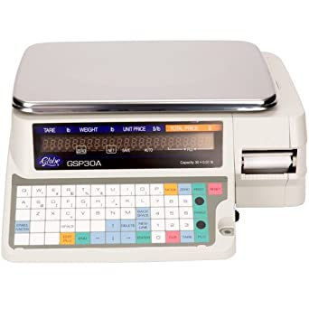 Globe GSP30A Label Printing Digital Food Scale