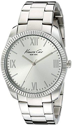 Kenneth Cole New York Men's 10019684 Classic Analog Display Japanese Quartz Silver Watch
